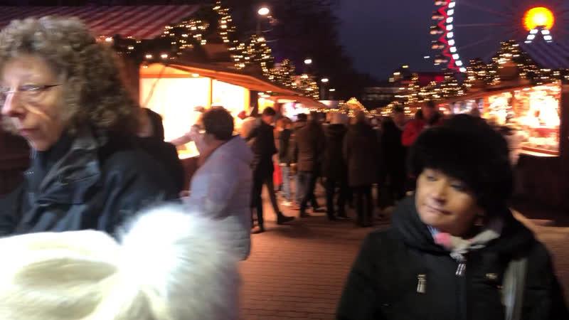 Рождественская ярмарка alexanderplatz
