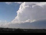 Cyclic supercell timelapse: Haakon county, South Dakota 7/13/09