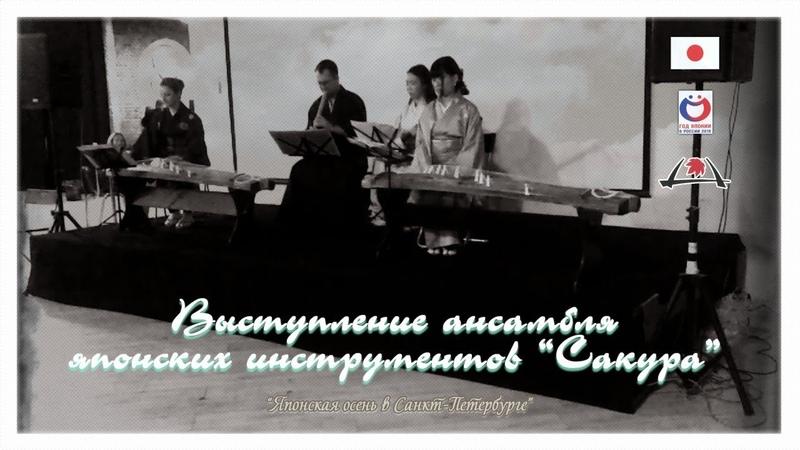 Выступление ансамбля японских инструментов Сакура - 1