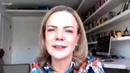 Entrevista ao vivo com a senadora Gleisi Hoffmann, presidente do PT