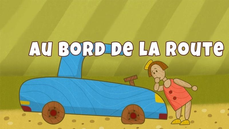 Dessin animé en français de voitures avec Prabou: au bord de la route