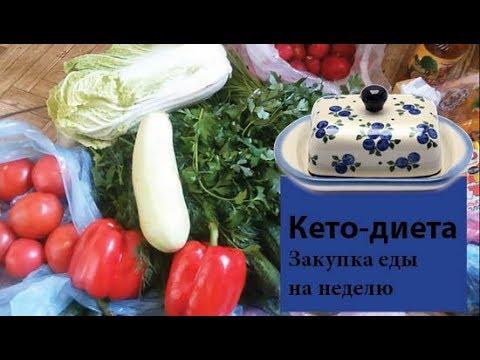 Кето-диета | Закупка продуктов на неделю