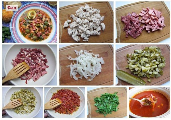 Солянка с колбасой копченой рецепт с пошагово в