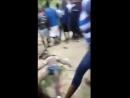 Насильника забили камнями и палками.