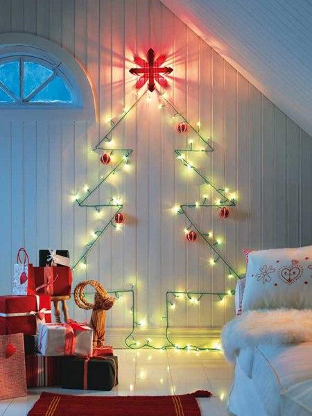 Как красиво оформить комнату на новый год