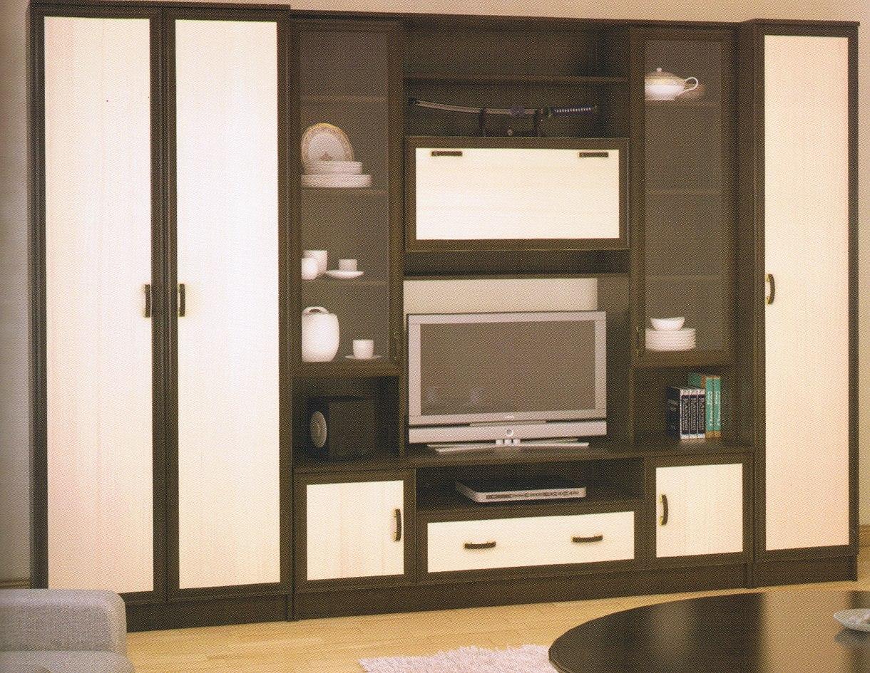шкафы стенки для гостиной фото