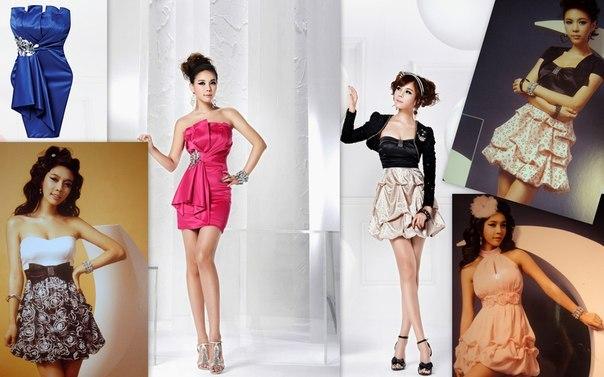 эксклюзивные вечерние и выпускные платья