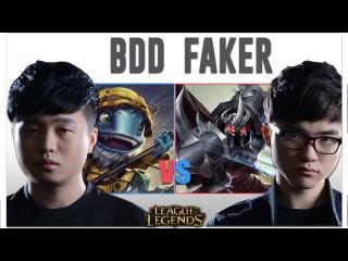 Faker vs Bdd | Mordekaiser vs Fizz | Pro Replays ★28