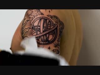 Черная татуировка в Москве, Анастасия Ятссон – Yatsson Tattoo