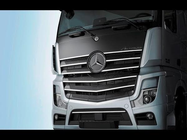 2019 Mercedes-Benz Actros Tanıtım videosu ve araç özellikleri