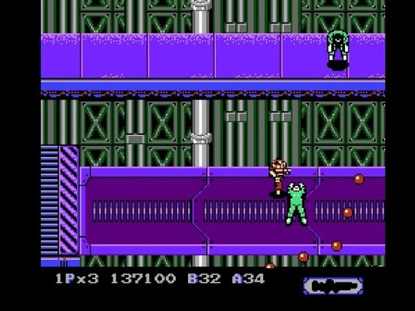 Heavy Barrel (NES) Full Longplay