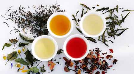 Чайные листья содержат танин.