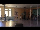 Студия шестовой акробатики Air Dance ,г.Магнитогорск. Добрынина Ксения