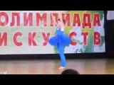 Тихонова Инна.  Чемпионат России 2014г.  акробатический танец.  8-9 место. взрослые