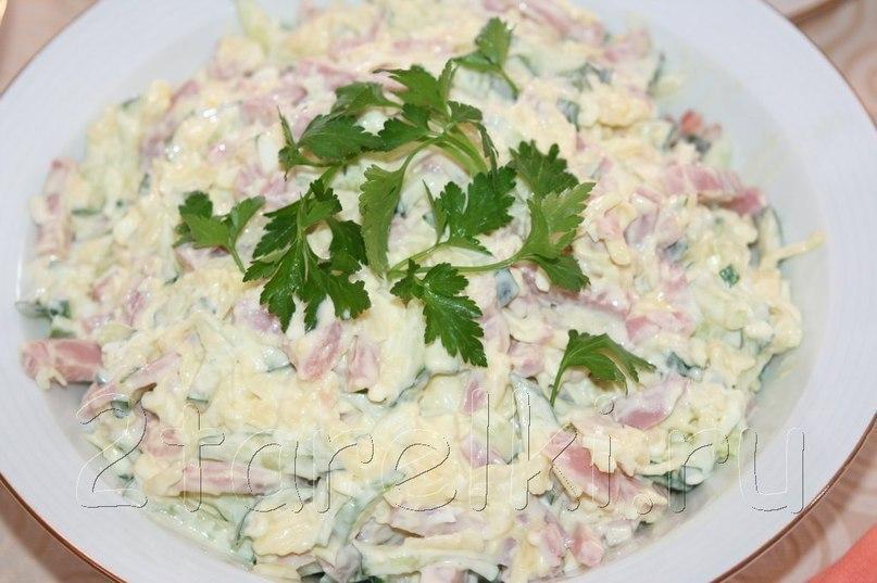Рецепты простых и праздничных салатов