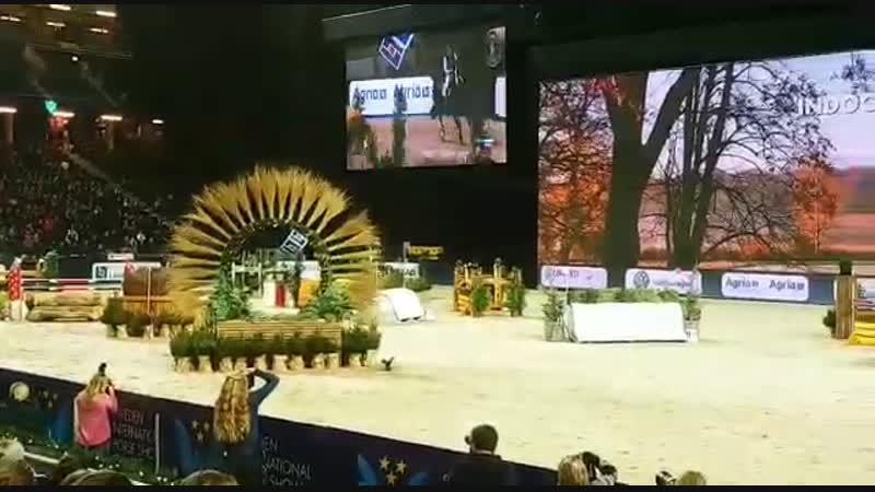 Winner Indoor Cross Country Sweden International Horse Show!