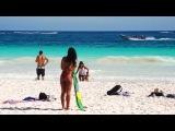 Тулум 2015 Мексика, Канкун, Юкатан / Tulum Mexico - Paraiso Beach