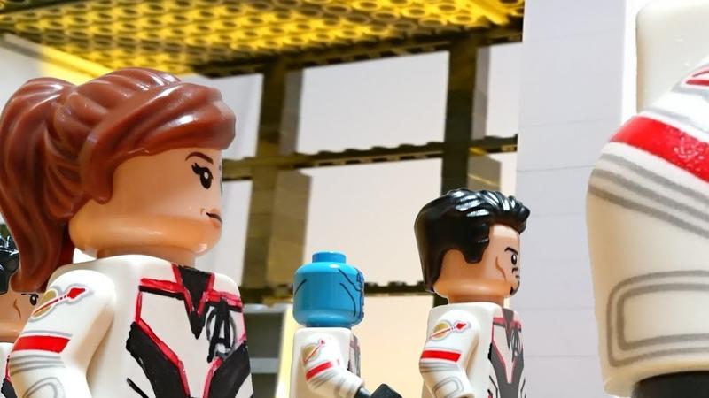 Avengers Endgame Official Trailer 2 in LEGO Marvel