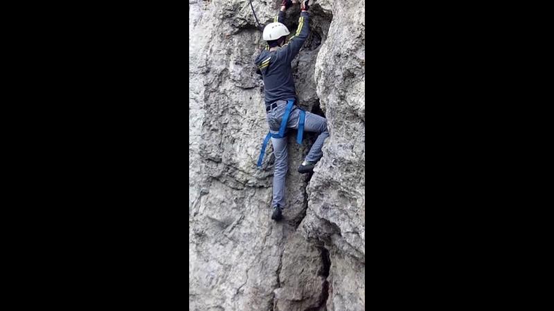 Поездка ребят из Клуба альпинизма и скалолазания ИРБИС на камень Ермак 18.09.2016 г.