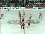Чемпионат мира по хоккею 1993, Германия, групповой этап, Россия-Швеция, 2-5, 1 место, Быков Вячеслав