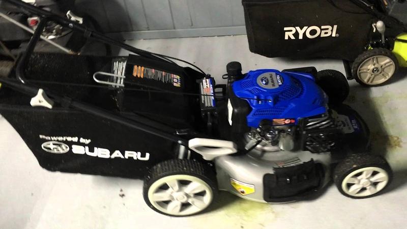 Powerstroke Subaru EA175V Electric Start Self Propelled Lawn Mower by Costco