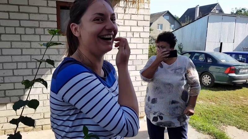 Приехали в Канев....с мамы в шоке ...