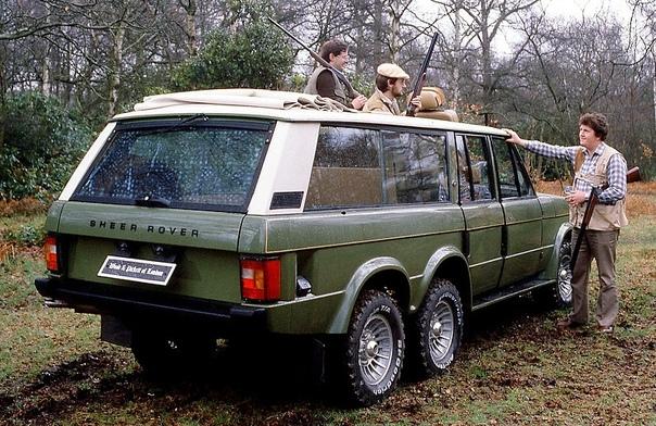 Внедорожник Carmichael Commando на базе пожарной машины Этот внедорожник был создан во второй половине 70-х гг. британской кузовной фирмой Carmichael & Sons, которая специализировалась на