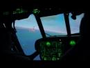 Посадка Ми-8 на авианосец Адмирал Кузнецов