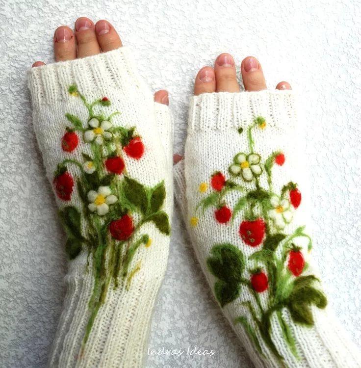 又到织手套季 - maomao - 我随心动