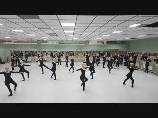 Классический урок ансамбля танца Сибири им. М.С. Годенко