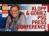Pre-PSG Champions League press conference   Jürgen Klopp & Joe Gomez