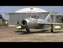 Hungarian MiG 15 first post restoration flight
