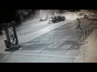 Ночью в Лисаковске произошло ДТП