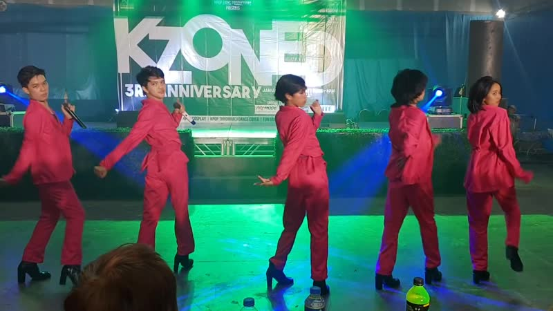 EX-MEN covering EXID - I Love You (Dance Cover) Hot Pink ¦ KZONED 3RD ANNIVERSARY | Revil