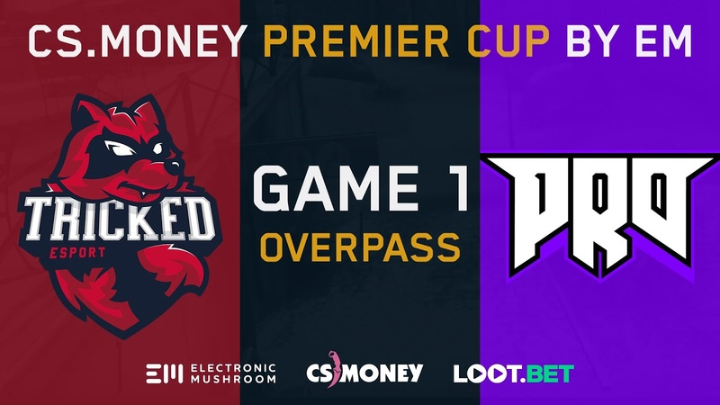 Tricked vs pro100 [Overpass] Map 1 - LB Ro4 - CS.MONEY PREMIER CUP BY EM
