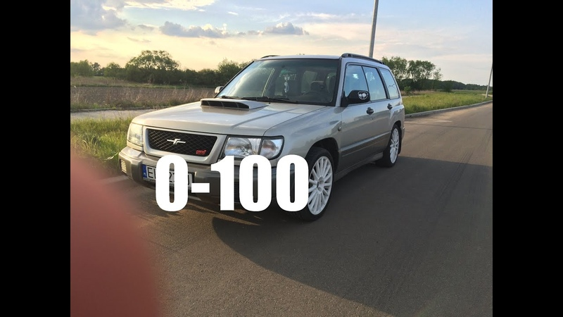Subaru Forester Turbo S 2.0T 281hp 0-100 acceleration