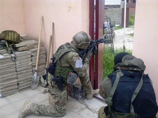 В пригороде Махачкалы уничтожены четыре боевика
