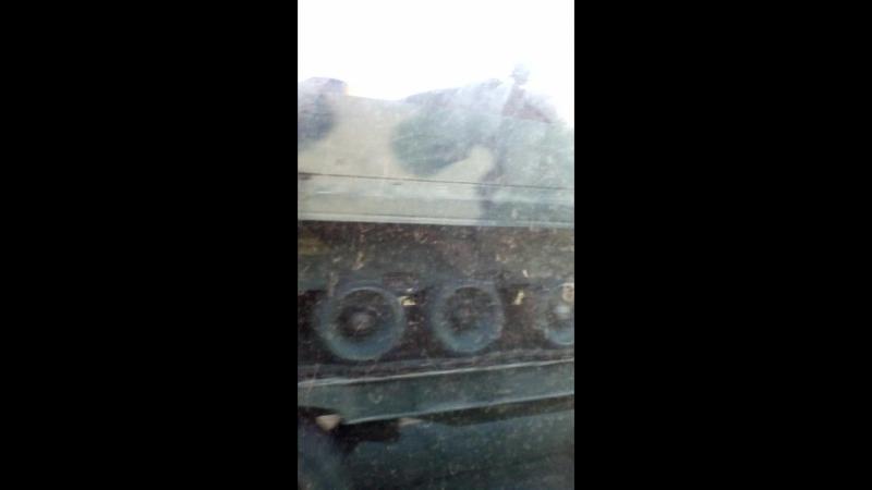 Черговий трофей російської армії БМП-3, було видно неозброєним оком (1)
