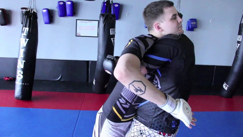Contract Killer Bearhug Backbreaker Takedown (working from the clinch)