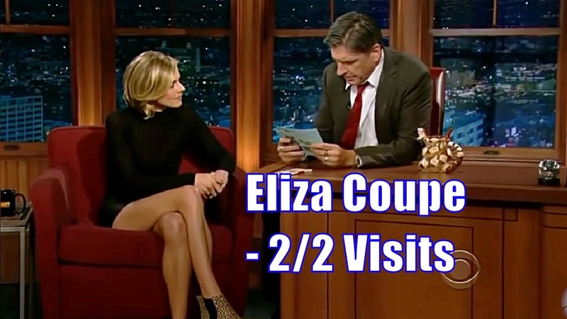 Eliza Coupe - The 80's Leather Shorts - 2/2 Appearances In Chron. Order [720p]