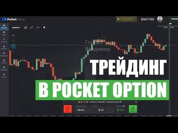 ТРЕЙДИНГ В POCKET OPTION