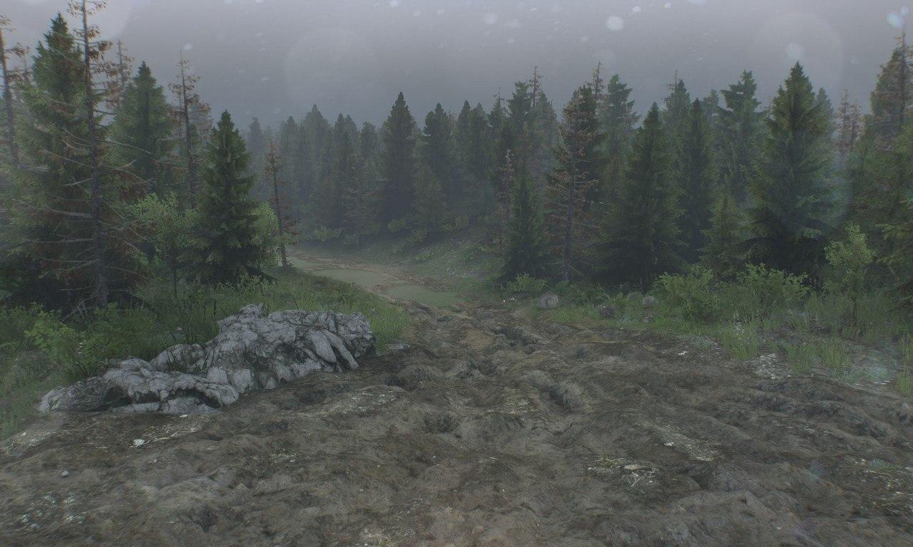 "Карта ""Level_Muddy-roads"" для 25.12.15 для Spintires - Скриншот 1"