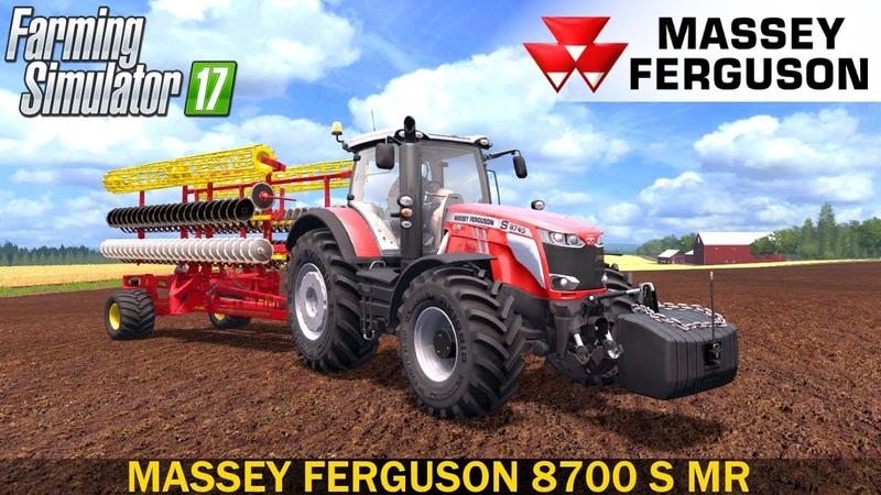 Farming Simulator 17 MASSEY FERGUSON 8700 S MR TRACTOR