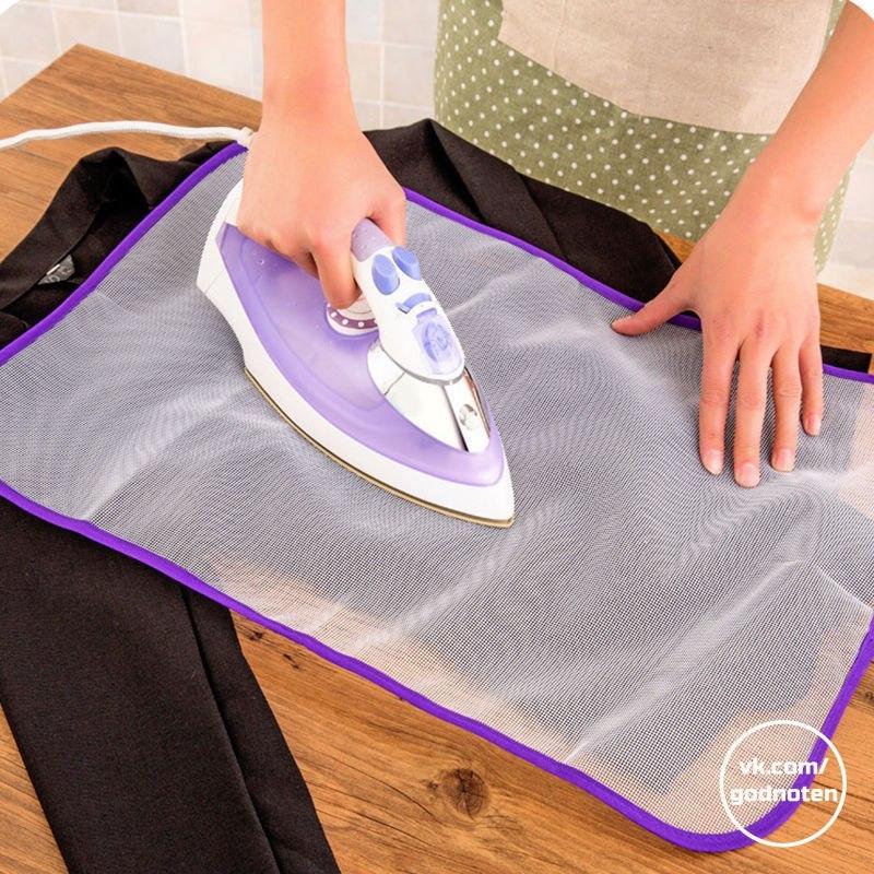 Защитная сетка для глажки белья -
