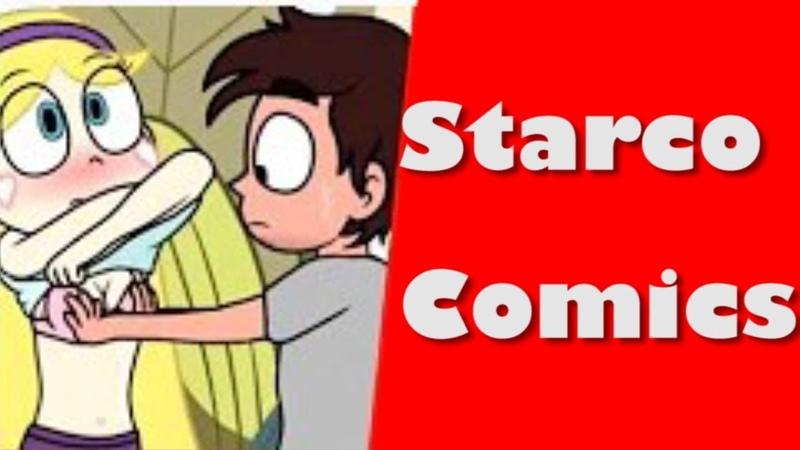 Starco 4 Comics Nuevos (1 Pervertido y 1 AU Eso)