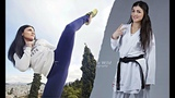 BEST KARATE STAR EVER with Amazing Skills l vicky panetsidou