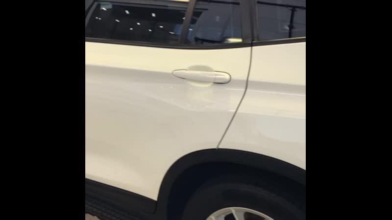 BMW Х3 после нанесения Американского пирога