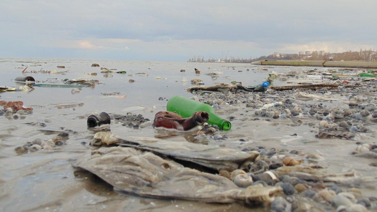Таганрог может быть курортным городом? Берег Таганрогского залива превратился в одну сплошную свалку
