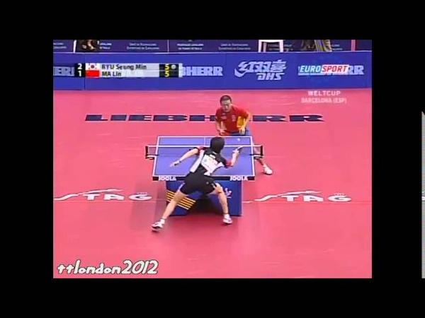 Ryu Seung Min vs Ma Lin (World Cup 2007)