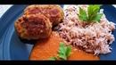 Вкусные котлеты из кабачков и фарша Рис с пшеном